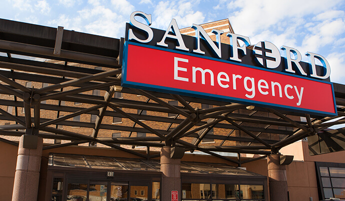 Sanford Emergency Department Sioux Falls Sd