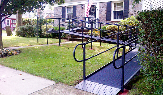 wheelchair ramp for a home