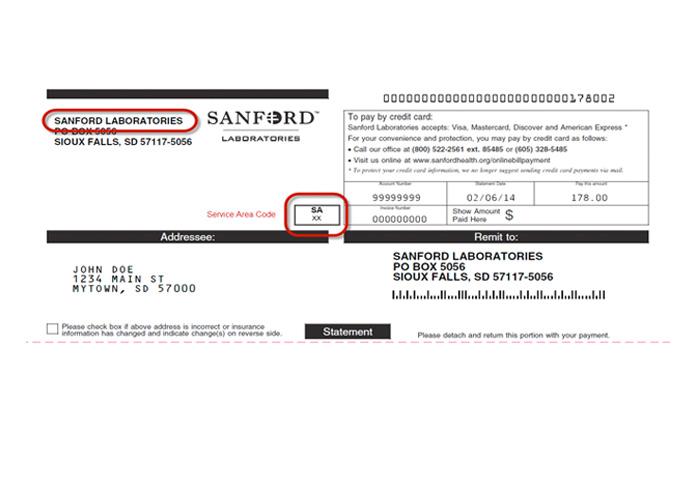 Online Bill Pay Sanford Health